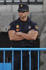 spanish cop