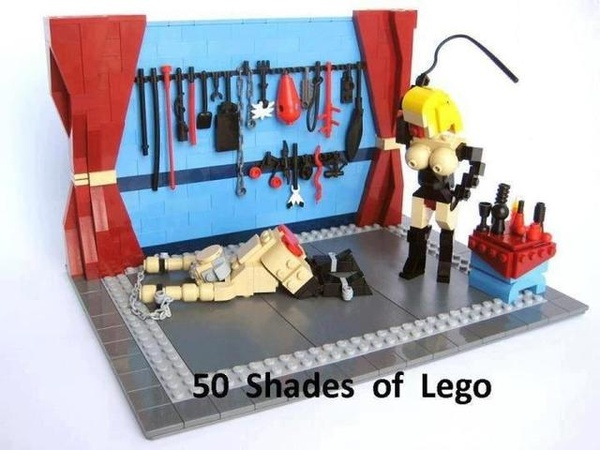 50 shades of lego
