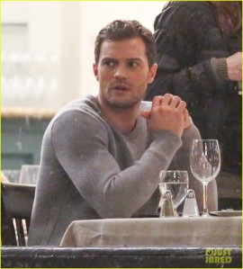 51997459 Celebrities on the set of 'Fifty Shades Darker' in Vancouver, Canada on March 15, 2016. Celebrities on the set of 'Fifty Shades Darker' in Vancouver, Canada on March 15, 2016. Pictured: Jamie Dornan FameFlynet, Inc - Beverly Hills, CA, USA - +1 (310) 505-9876